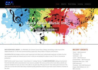 Back Door Music